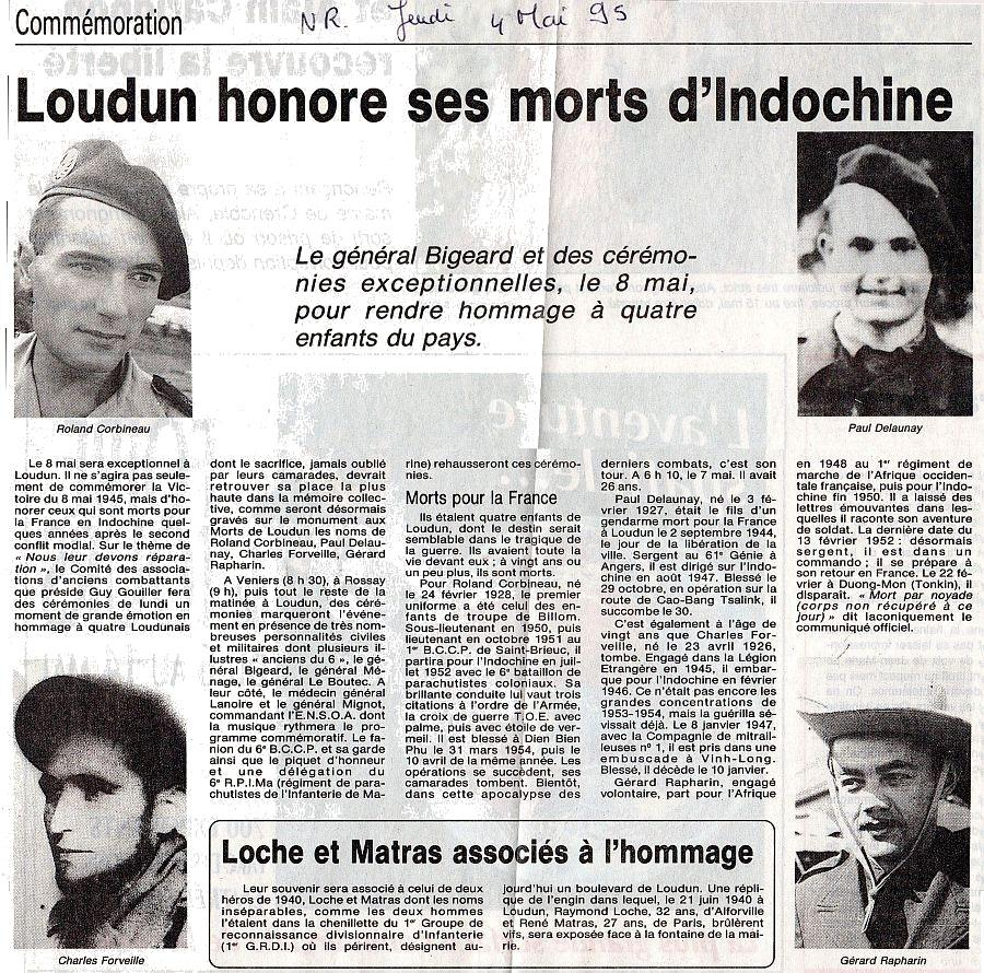 Loudun Indochine NR 4 Mai 1995