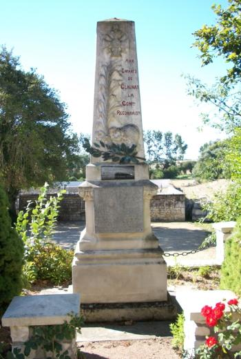 Claunay - Monument aux morts