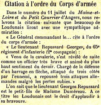REPUSSARD Georges citation