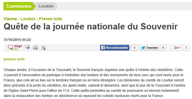 NR 2015 10 31 Quete journnee nationale du souvenir